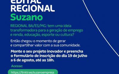 Edital Regional Suzano