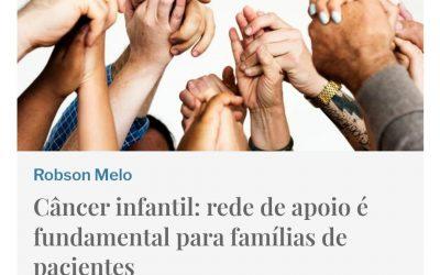 Câncer infantil: rede de apoio é fundamental para famílias de pacientes