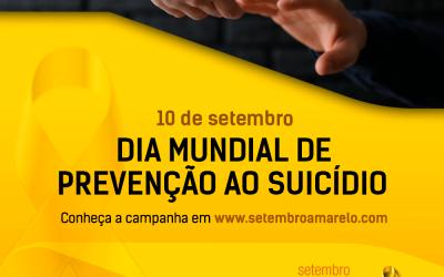 Setembro Amarelo: campanha de prevenção ao suicídio
